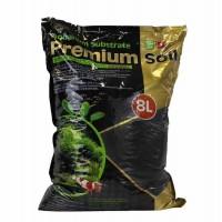 ISTA Substrate Premium Soil Субстрат для аквариумных растений и креветок премиум класса 8л, гранулы 1,5-3,5мм